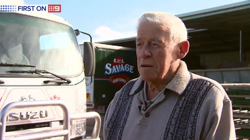 Mr Ward is not showing any signs of slowing down. (9NEWS)