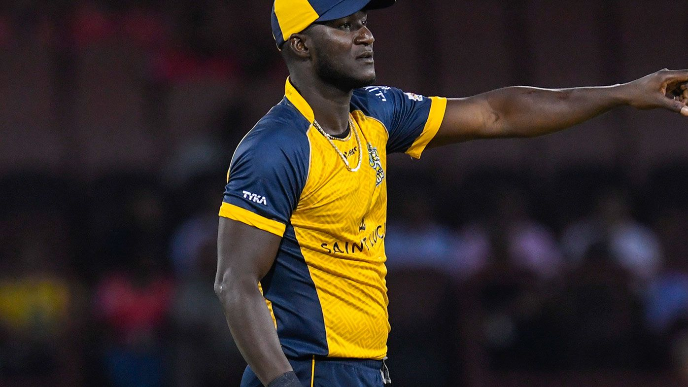 Former West Indies skipper Daren Sammy is alleging he was racially abused when playing for Sunrisers Hyderabad in the IPL.