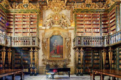 <strong>Biblioteca Joanina, Coimbra</strong>