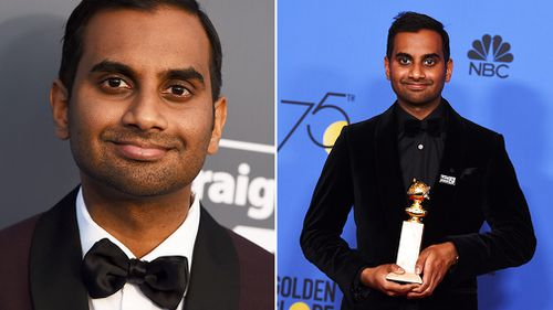 "A woman identified only as ""Grace"" detailed her 2017 encounter with comedian Aziz Ansari in a recent article. (AAP)"