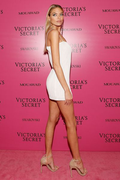Martha Hunt in Priscavera NYCat the 2017 Victoria's Secret Fashion Show After Party