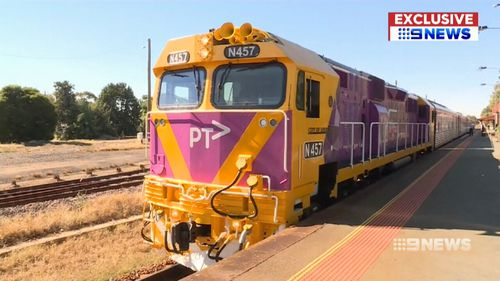 The new trains would be built in Dandenong. (9NEWS)