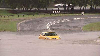 Heavy rain lashing South East Queensland with more to come