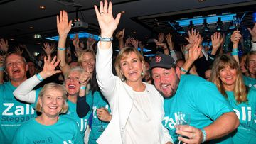 190518 Federal Election 2018 Zali Steggall Warringah victory Politics News Australia