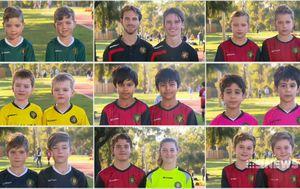 Junior Soccer team's unique 'twinning' advantage