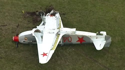 Man miraculously escapes injury after plane flips at Victorian airport