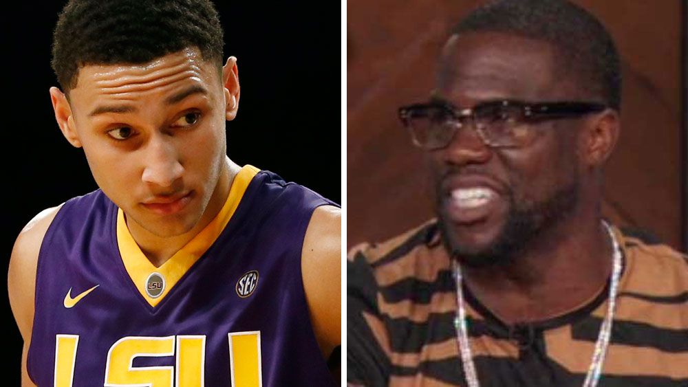 Kevin Hart calls out Ben Simmons