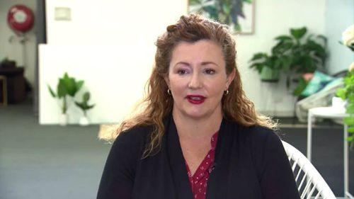 Shebah CEO Georgina McEnroe. (9NEWS)