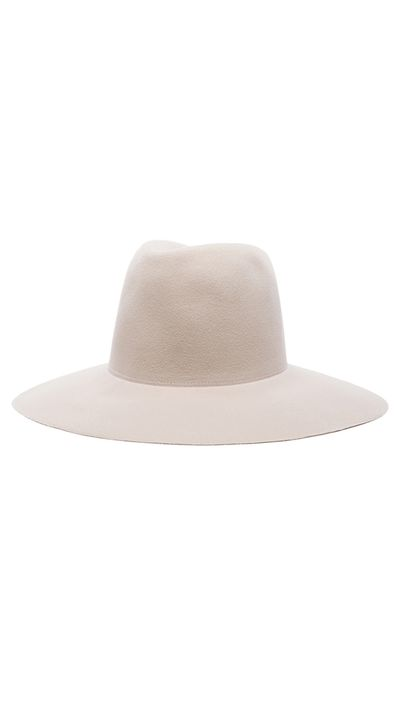 "<a href=""http://www.fwrd.com/product-clyde-wide-brim-pinch-hat-in-alabaster/CLYF-WH8/?&srcType=plpaltimage"" target=""_blank"">Wide Brim Pinch Hat, $278.02, Clyde</a>"