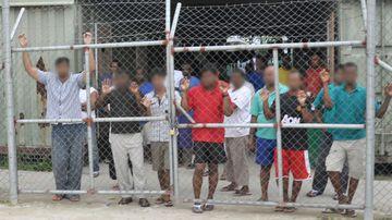 Detainees on Manus Island. (AAP)