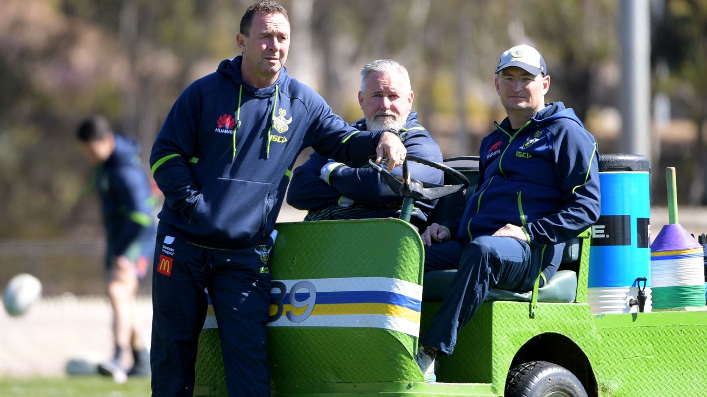 Ricky Stuart goes back to the future for success with Canberra Raiders squad