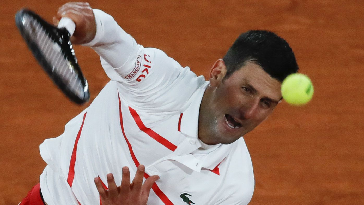 Novak Djokovic ties Nadal, Federer mark at French Open with easy win in third round