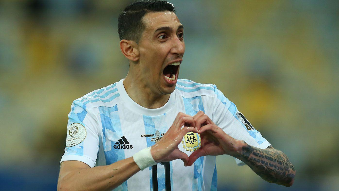 Argentina beat Brazil 1-0 in Copa America final, Angel di Maria scores, Lionel Messi earns elusive international trophy