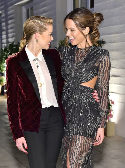 Amber Heard and Kate Beckinsale