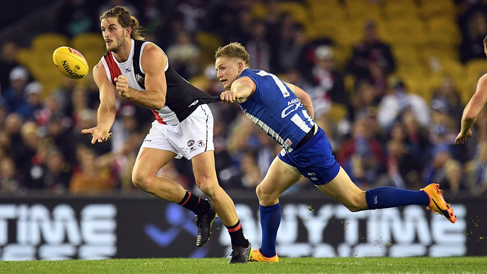 St Kilda's scrappy win over North Melbourne breaks AFL losing run