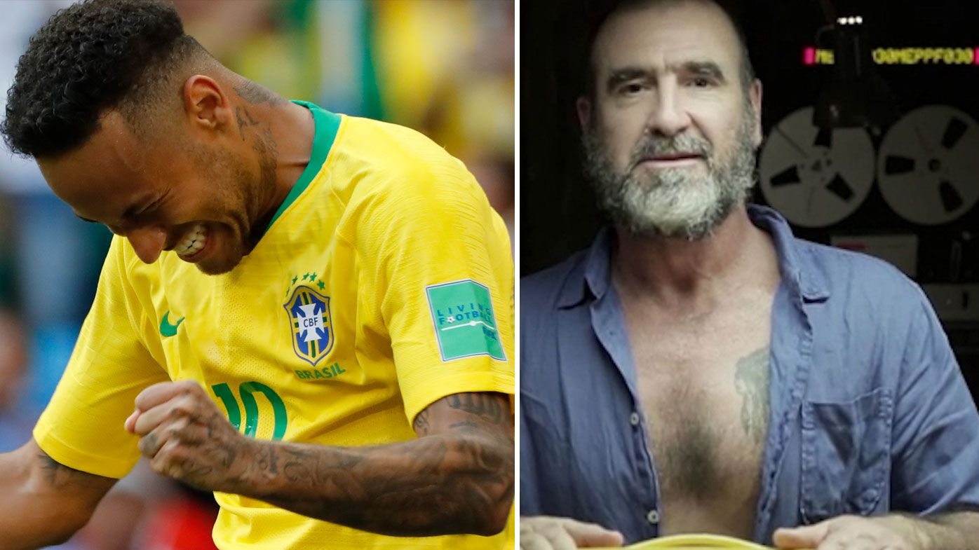 Brazil superstar Neymar ruthlessly trolled by French legend Eric Cantona