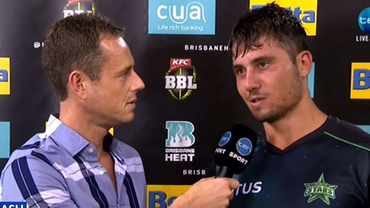 Marcus Stoinis pays tribute to fallen father after heroic BBL performance