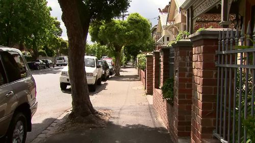 The sexual assault allegedly occurred outside homes on Peel Street, 50m from the pub. (9NEWS)