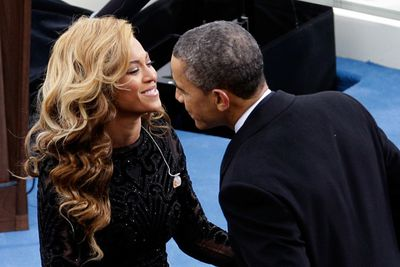 French photographer Pascal Rostain told Europe 1 radio station that <i>Washington Post</i> was about to publish a story about 'a supposed liaison' between Beyonce and US President Barack Obama. The paper denied it, but the world clung to the salacious rumour.<br/><br/>Bey, who had sang at Obama's 2009 and 2013 inaugurations and wife Michelle's 50th birthday party in January 2014, got her rep to deny the reports, calling them 'absurd'.<br/><br/>Image: Getty