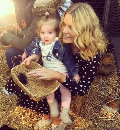 Erin Molan and her daughter