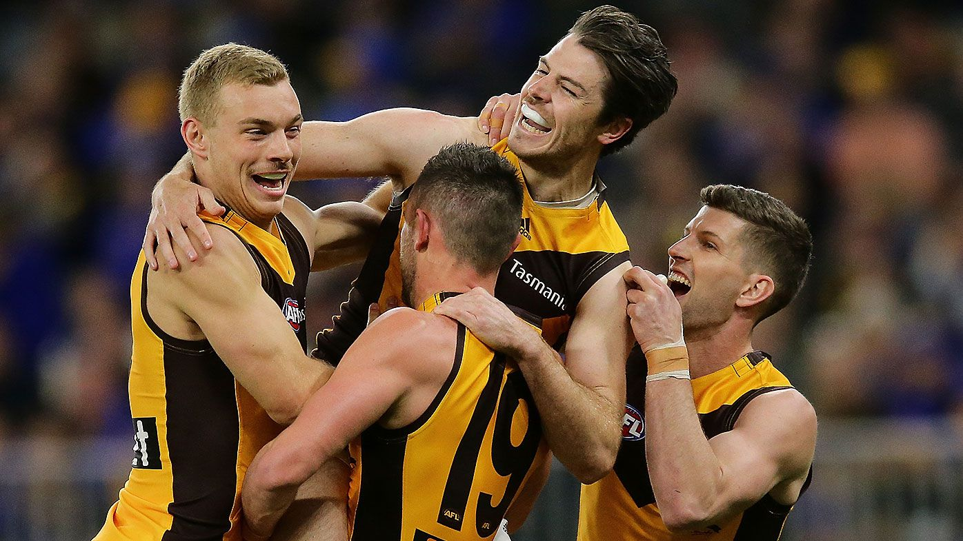 Hawthorn see the positive in brutal block of games to restart season