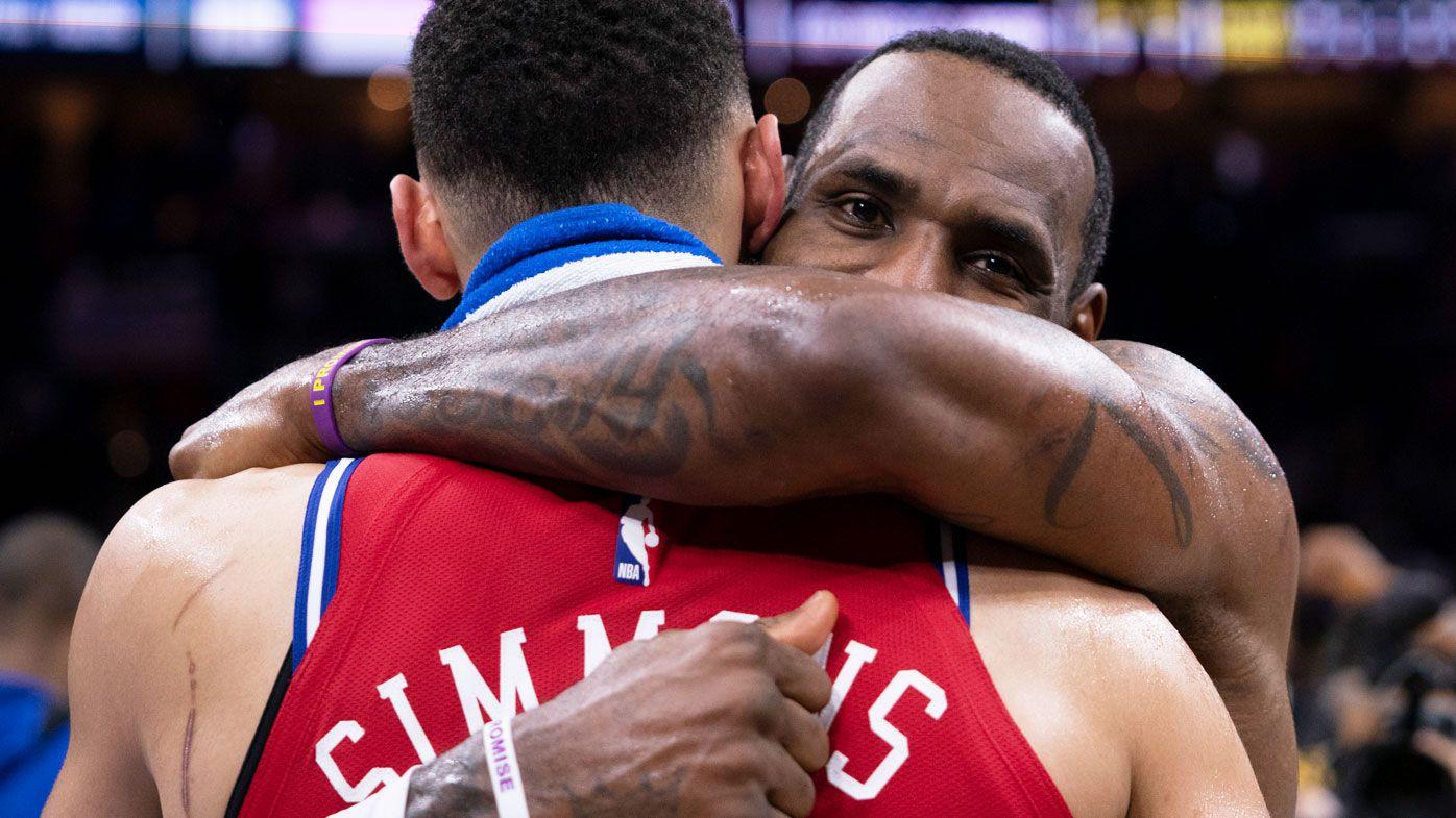 LeBron James picks Ben Simmons for All-Star game