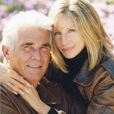 Barbara Streisand and James Brolin