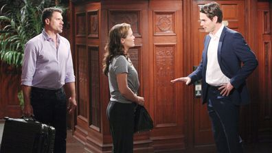 Nick, Chelsea, Adam: The Young and the Restless