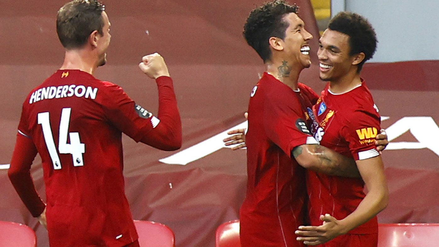 Rampant Liverpool edge closer to EPL title after trouncing Crystal Palace 4-0