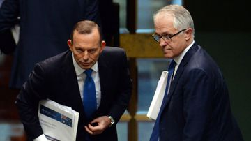 Tony Abbott has changed his tune on the Paris climate deal now that Malcolm Turnbull is no longer prime minister.