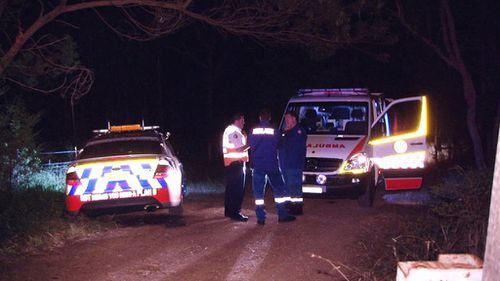Emergency services were called to the incident around 8.30pm last night after the woman fell. (9NEWS)