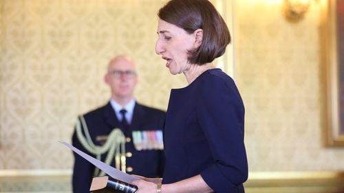 'I'm here to govern for everyone': Gladys Berejiklian sworn in