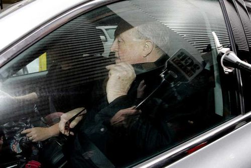 The archbishop has stood down from his post but refused to resign. Picture: AAP