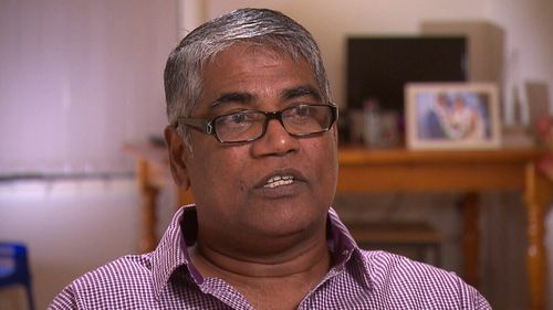 Roger Singaravelu and his family opened their home to Shoma as an international student.