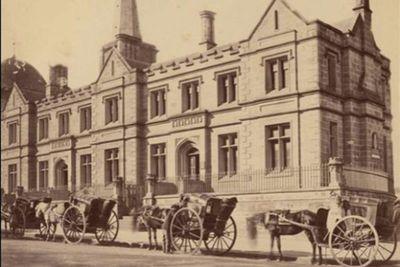 Registrar-General's building in Sydney, 1870