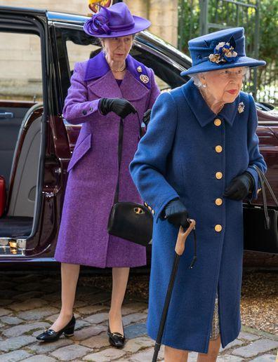 Queen Elizabeth, Princess Anne
