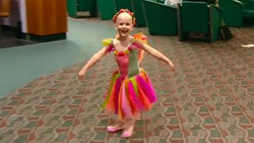 Olivia Lambert was diagnosed with neuroblastoma at age four.