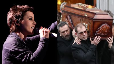 Hundreds of mourners gather to farewell The Cranberries' lead singer