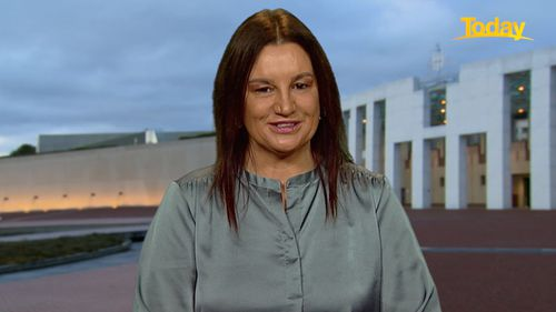Independent senator Jacqui Lambie said she is concerned with Australia's coronavirus vaccine rollout