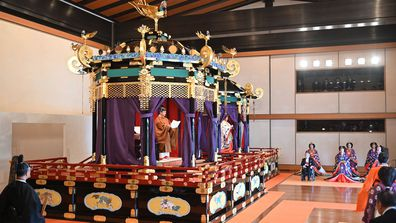 Enthronement Ceremony Of Emperor Naruhito of Japan - ceremony 2