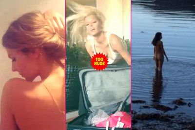 It's been just over a year since Instagram introduced videos and celebs have taken full advantage of its exhibitionist potential.<br/><br/>Michelle Rodriguez is the latest star to flash her followers, uploading a cheeky vid of herself going skinny dipping in Ireland. She joins the likes of Sophie Monk, Jennifer Hawkins and Rihanna who have all treated their followers to peep shows on Instagram.<br/><br/>Here we introduce these sexy stars into the Insta-flasher hall of fame for the following videos. Happy flashing!