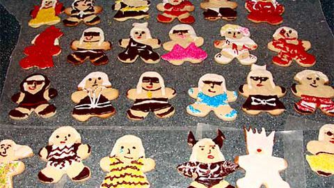 I want your noms: Lady Gaga in cookie form