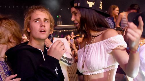 Justin Bieber 'dragged out of Coachella' in a choke hold by security