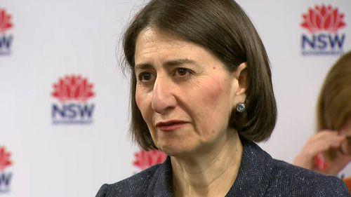 "NSW Premier Gladys Berejiklian says the state remains on ""high alert""."