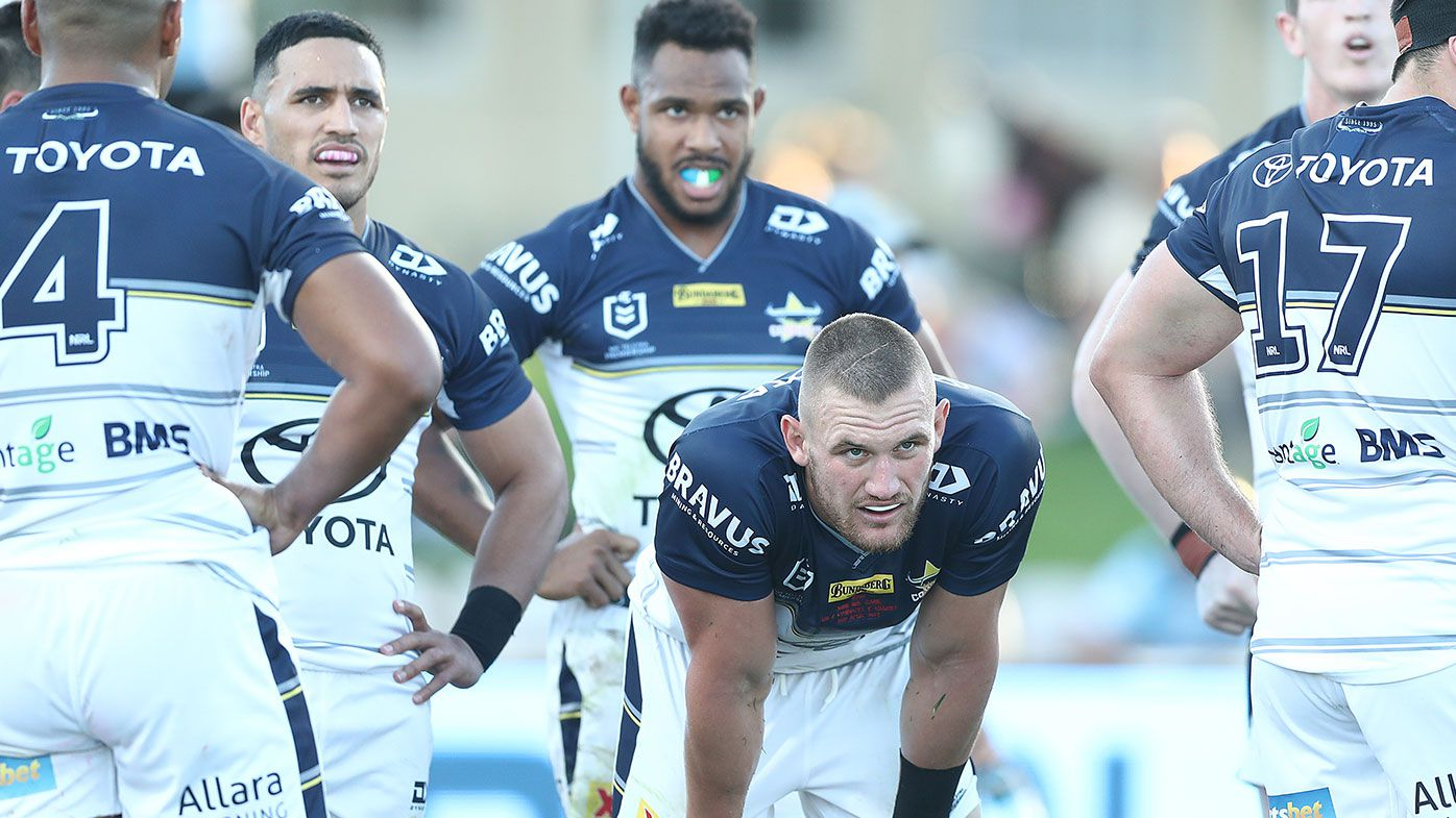 'Diabolical' Cowboys roasted after extending winless start to 2021 season against Sharks