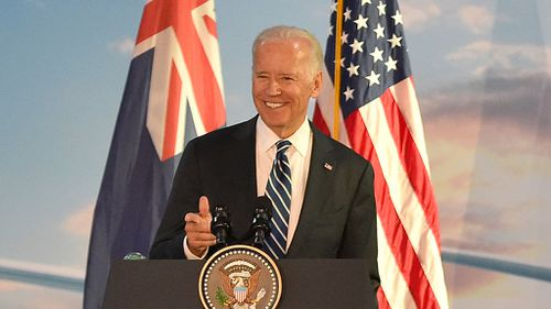 US Vice President will meet Prime Minister Malcolm Turnbull to talk trade. (AAP)