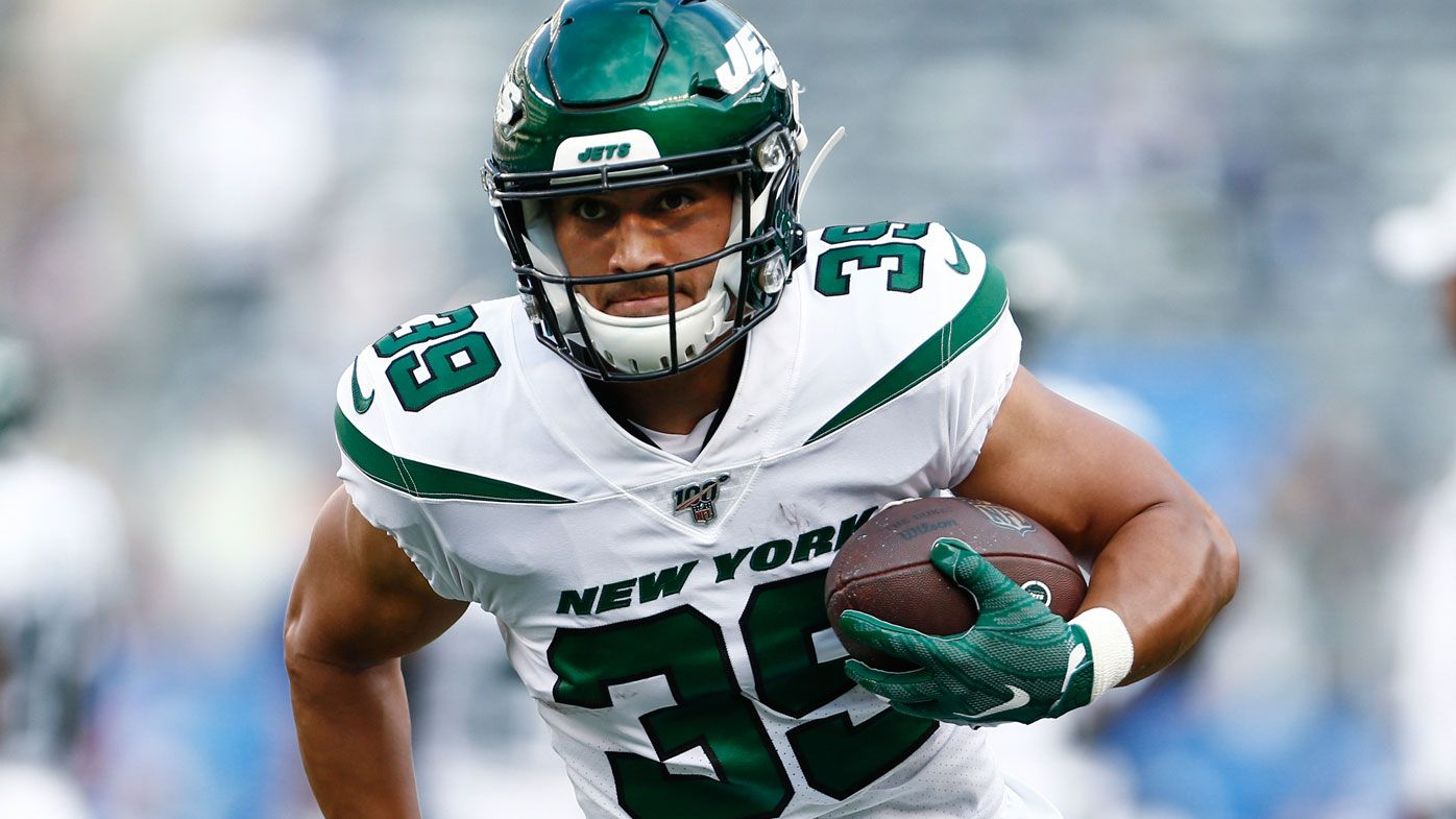 Valentine Holmes is hoping for a spot in the 53-man roster with the Jets