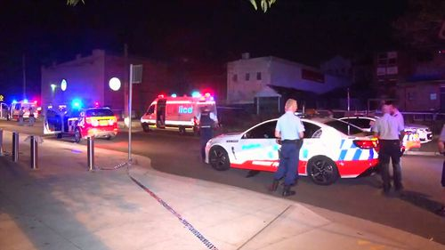It's believed a 34-year-old man left the venue at Turramurra when he was threatened by a group of teenagers.