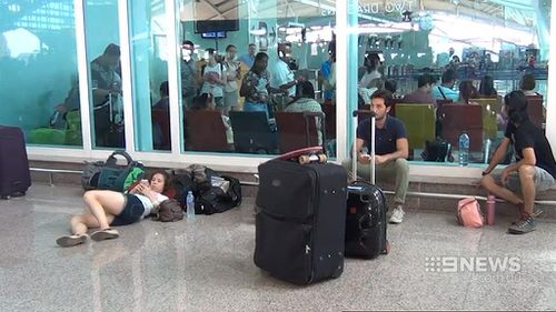 Some passengers have been told it could be as late as July 23 before they can fly home. (9NEWS)