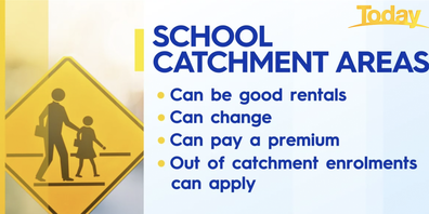 What to know about buying in school catchment zones.